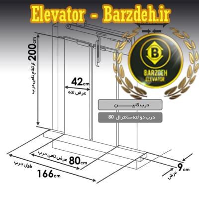 درب اتوماتیک آسانسور