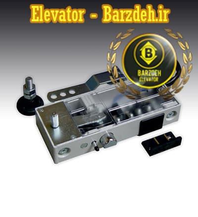 قفل درب لولایی آسانسور شیندلر قیمت خرید فروش