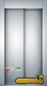 درب نیمه اتوماتیک کابین آسانسور یاران در عرض 80 قیمت خرید فروش