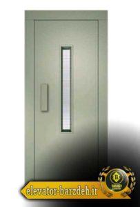 درب لولایی آسانسور فوپا فروش خرید قیمت