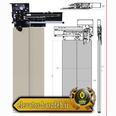 درب اتوماتیک سانترال آسانسور بهران مشخصات فنی