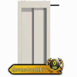 درب کابین اتوماتیک تلسکوپی آسانسور بهران - عرض 70 قیمت خرید فروش