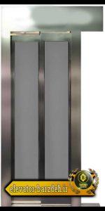 درب اتوماتیک آسانسور حریری در طرح استیل قیمت خرید فروش