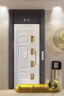 لیست درب لولایی آسانسور
